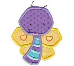 Little Butterfly Applique