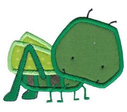 Little Grasshopper Applique