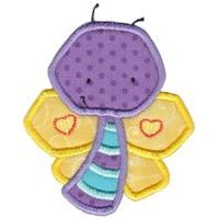Embroidery Design Set - Little Bugs Applique