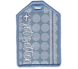 Jet Setter Luggage Tag