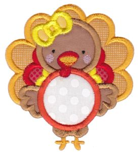 Monogram Thanksgiving Applique 1
