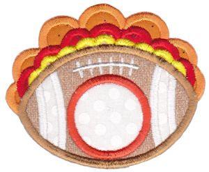 Monogram Thanksgiving Applique 8