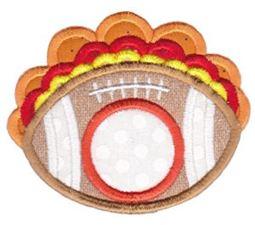 Monogram Thanksgiving Applique 8