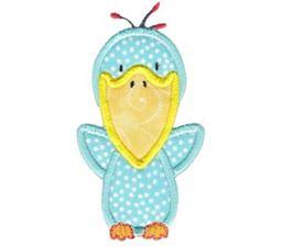 My Friend Bird Applique 4