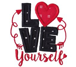 Love Yourself Applique