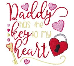 Daddy Has The Key To My Heart