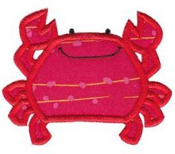 Ocean Crab Applique