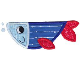 Cute Fish Applique