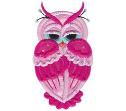 Owls Applique 13