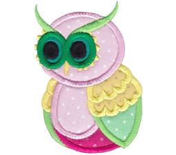 Owls Applique 14