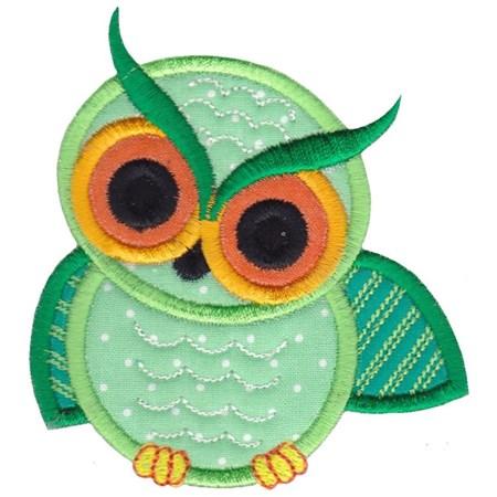 Owls Applique 2