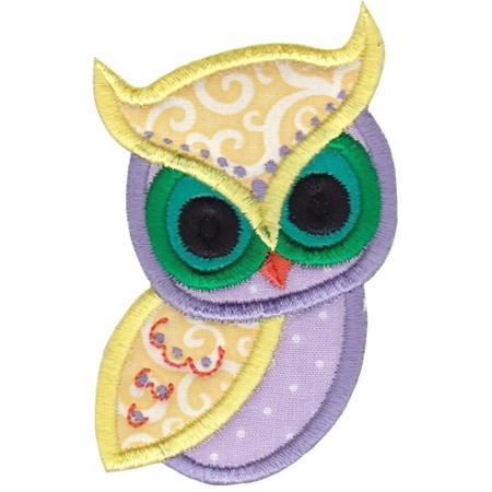 Owls Applique 7