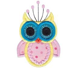 Owls Applique 9