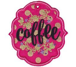 Coffee ITH Pantry Label