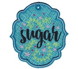 Sugar ITH Pantry Label