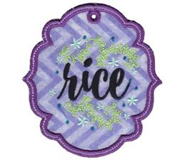 Rice ITH Pantry Label