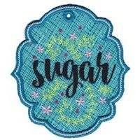 Embroidery Design Set - Pantry Labels Applique