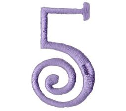 Quirky Girl Alphabet 5