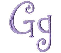 Quirky Girl Alphabet G