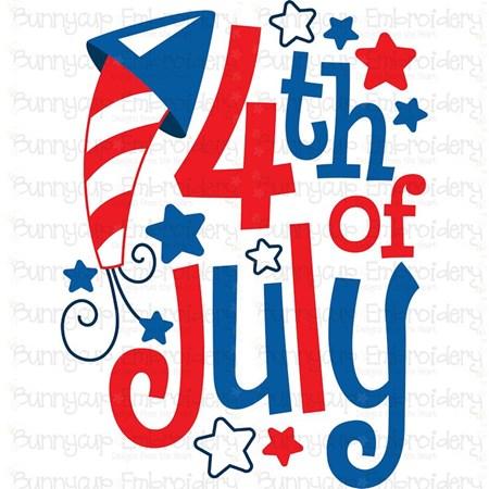 4th of July SVG