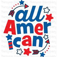 4th of July Sentiments SVG