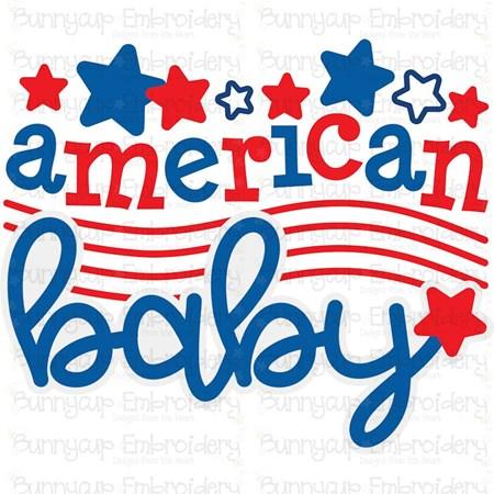 American Baby SVG