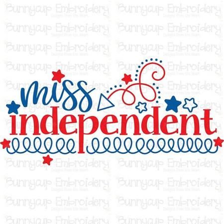 Miss Independent SVG