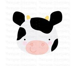 Adorable Animal Faces Cow