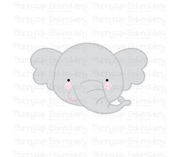 Adorable Animal Faces Elephant