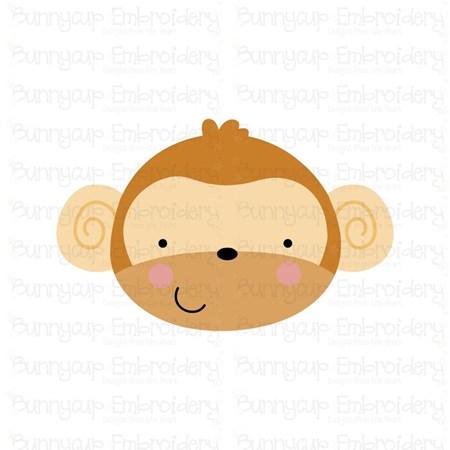 Adorable Animal Faces Monkey