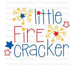 Little Firecracker SVG