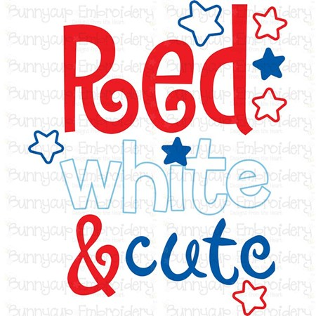 Red White And Cute SVG