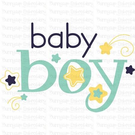 Baby Boy Sentiments 1 SVG