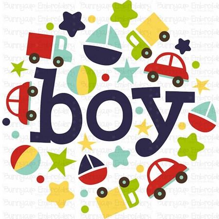 Baby Boy Sentiments 13 SVG