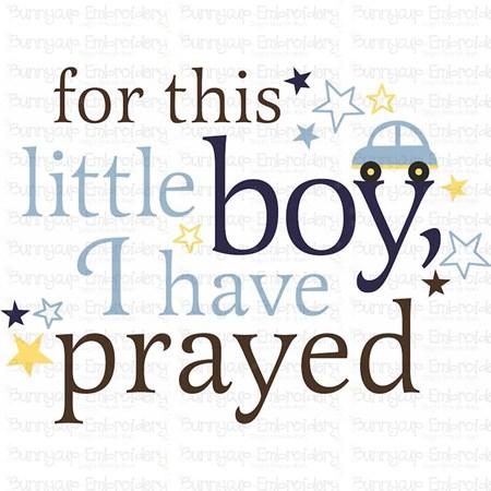 Baby Boy Sentiments 3 SVG