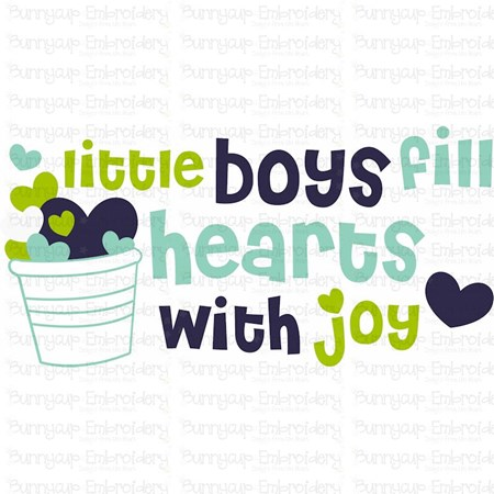 Baby Boy Sentiments 5 SVG
