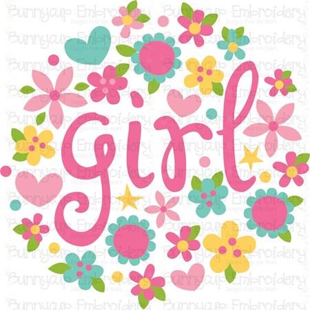 Baby Girl Sentiments 13 SVG