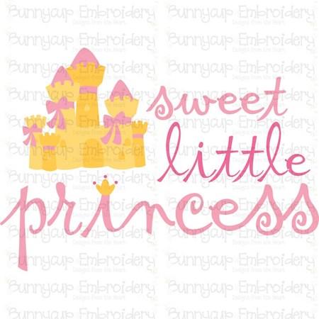 Sweet Little Princess SVG
