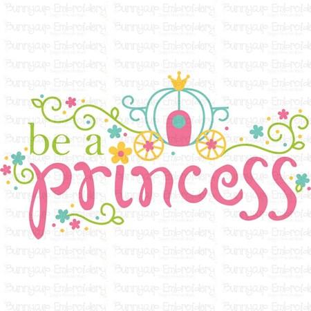 Be A Princess SVG