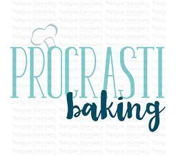 Procrasti Baking SVG
