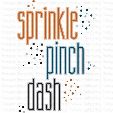 Sprinkle Pink Dash SVG