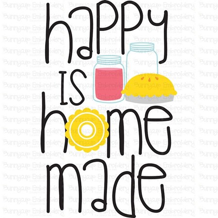 Happy Is Home Made SVG