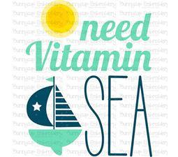 Need Vitamin Sea SVG