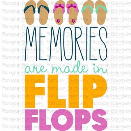 Memories Are Made In Flip Flops SVG