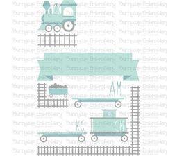 Train Birth Announcement Metric am SVG