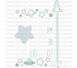 Space Birth Announcement US pm SVG