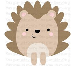 Boxy Hedgehog SVG