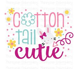 Cotton Tail Cutie SVG
