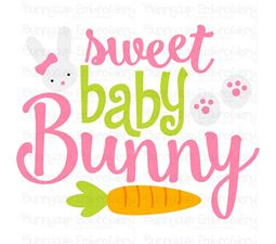 Sweet Baby Bunny SVG