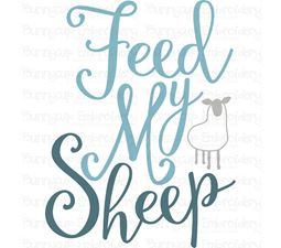 Feed My Sheep SVG
